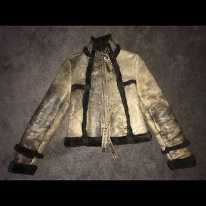 Ladies The Limited Leather  Motorcycle Jacket  S